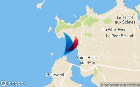 Carte du club de la fédération française de voile