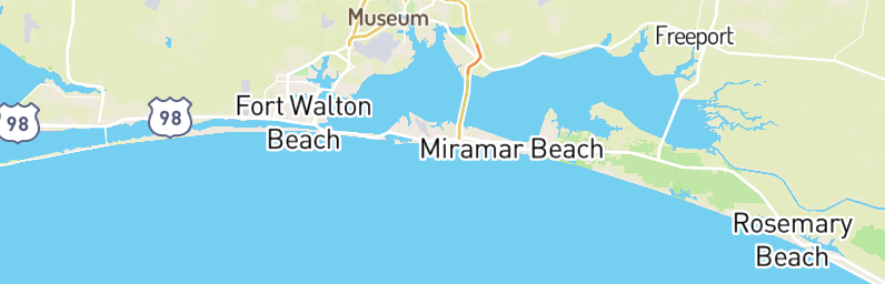Henderson Beach State Park Is Located In Florida