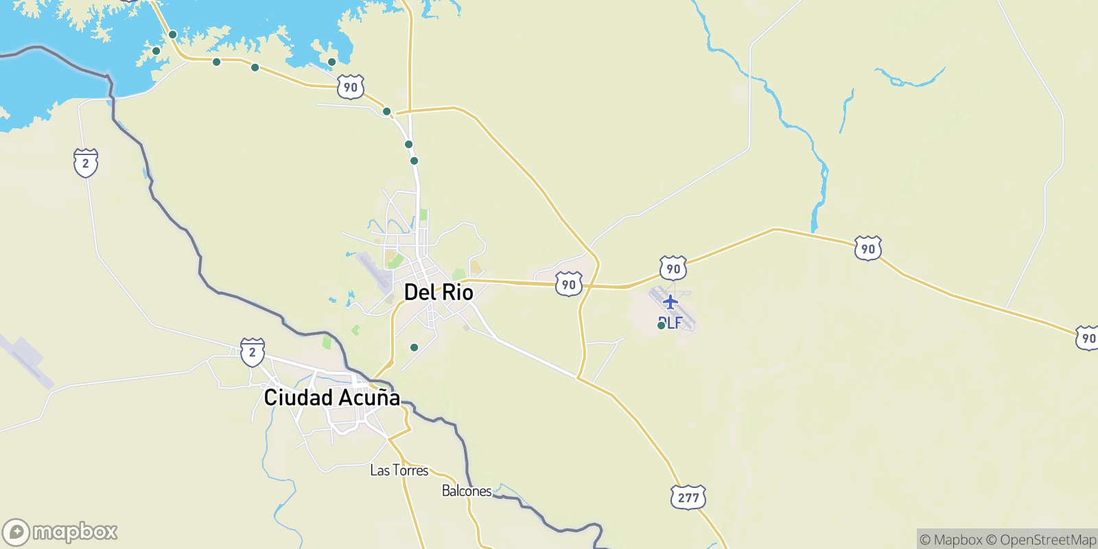 The best camping near Val Verde Park Colonia, Texas