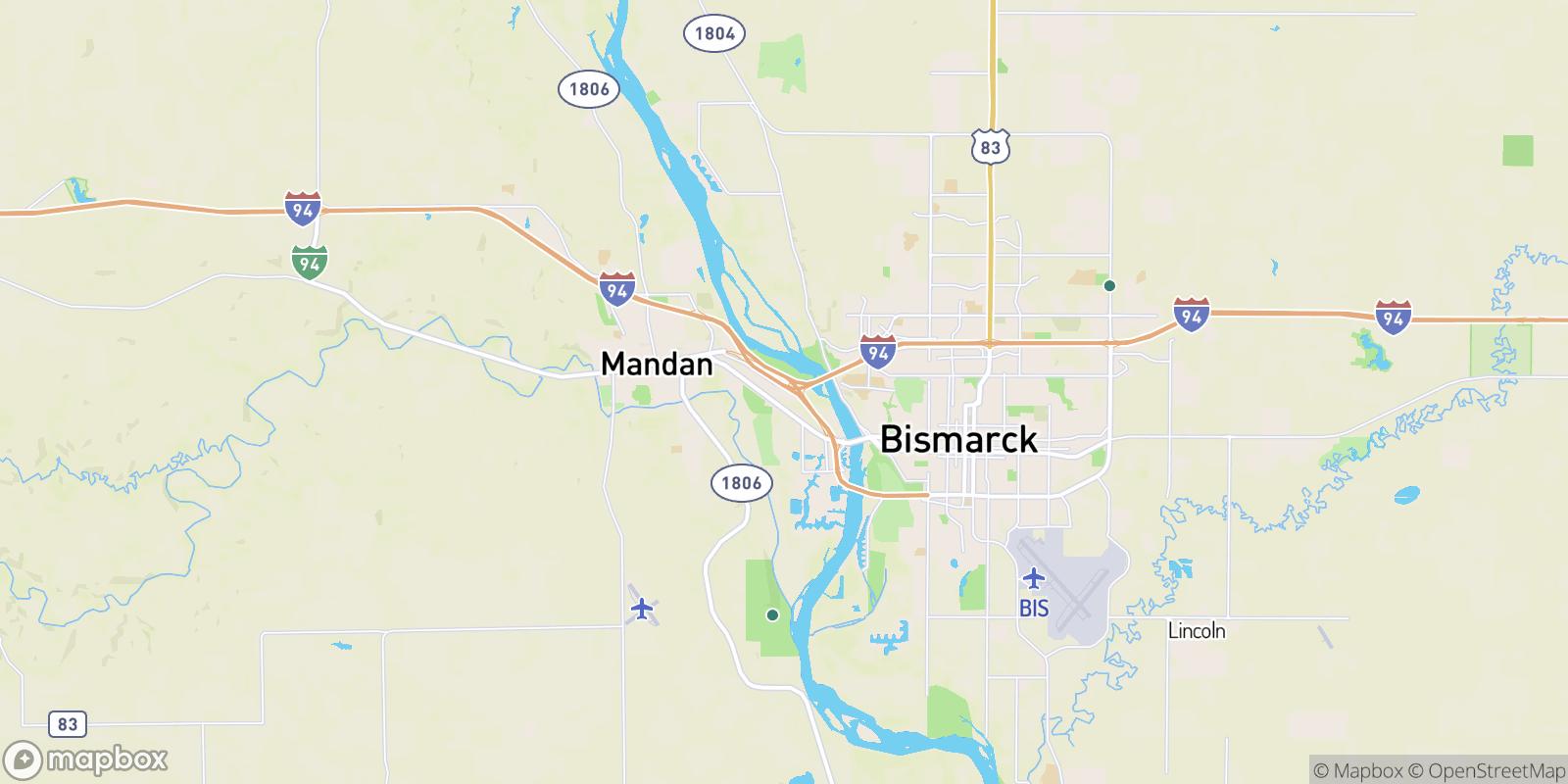The best camping near Twin City Estates, North Dakota