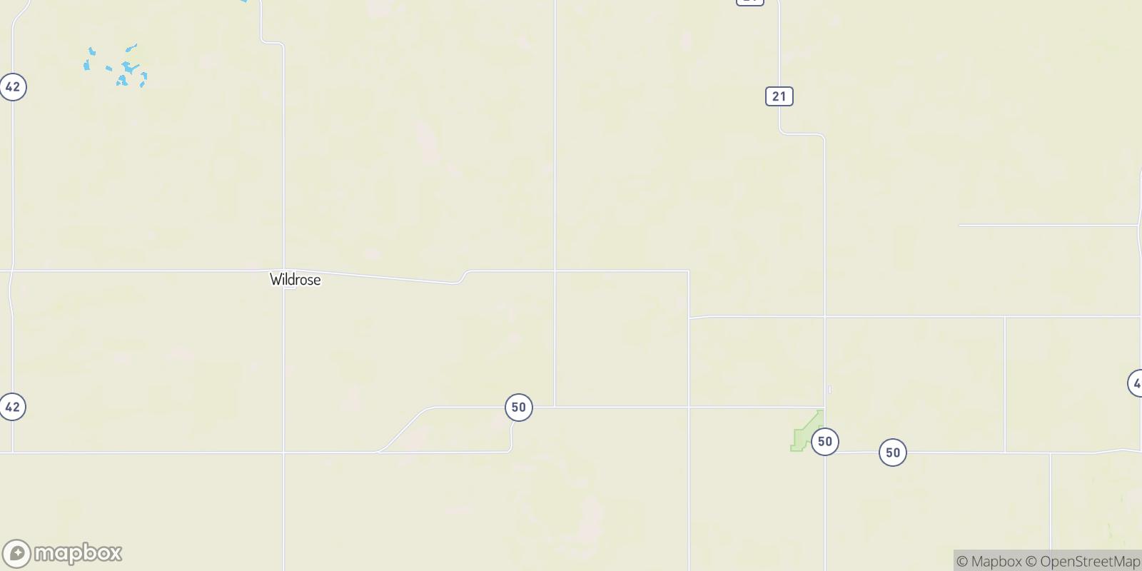 The best camping near Hamlet, North Dakota