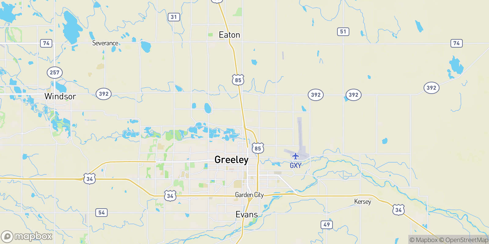 The best camping near Greeley Junction, Colorado