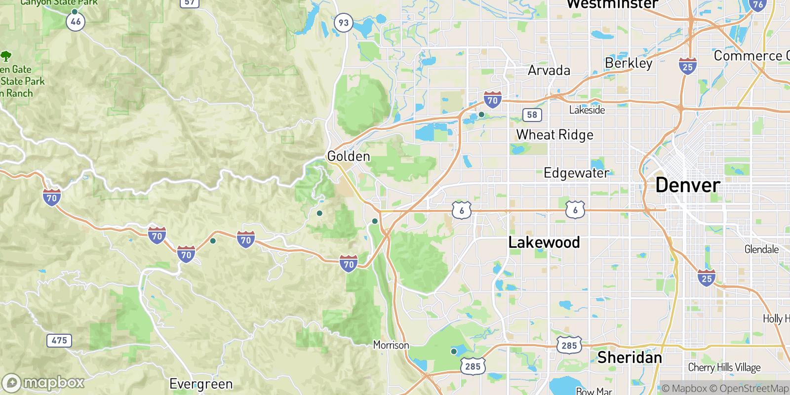 The best camping near Vernon Gardens, Colorado