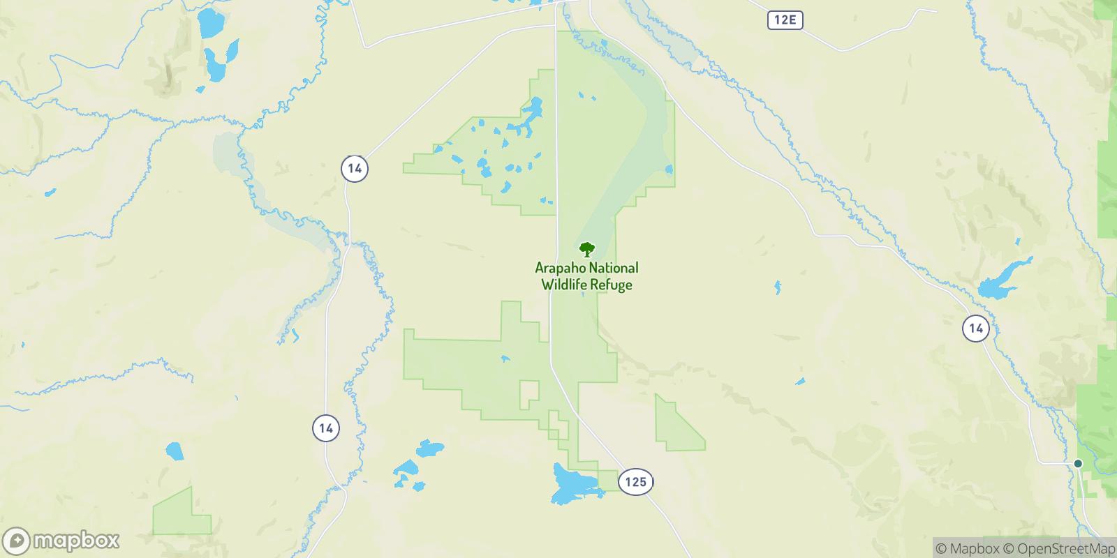 The best camping near Larand, Colorado