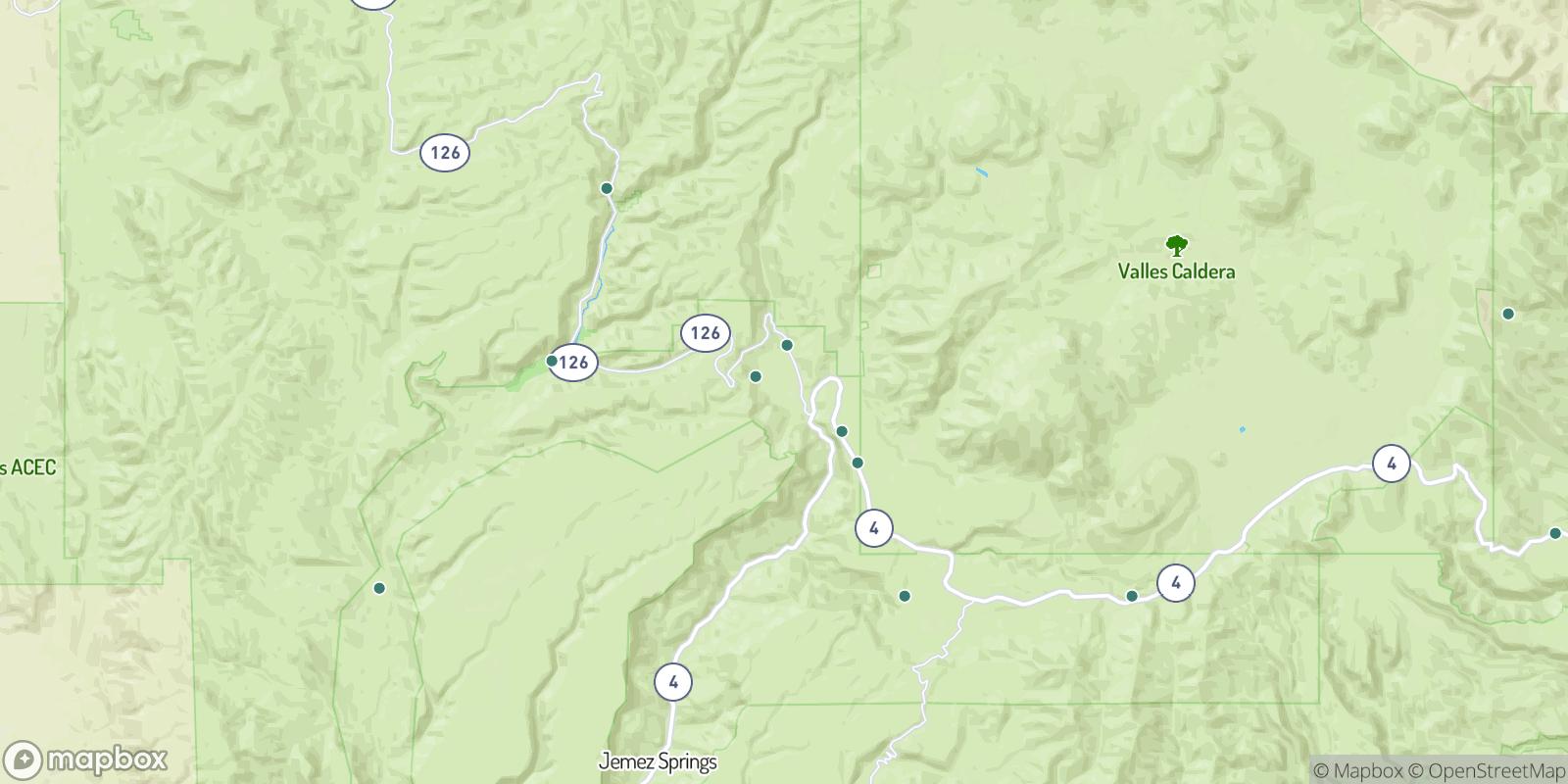 The best camping near La Cueva, New Mexico