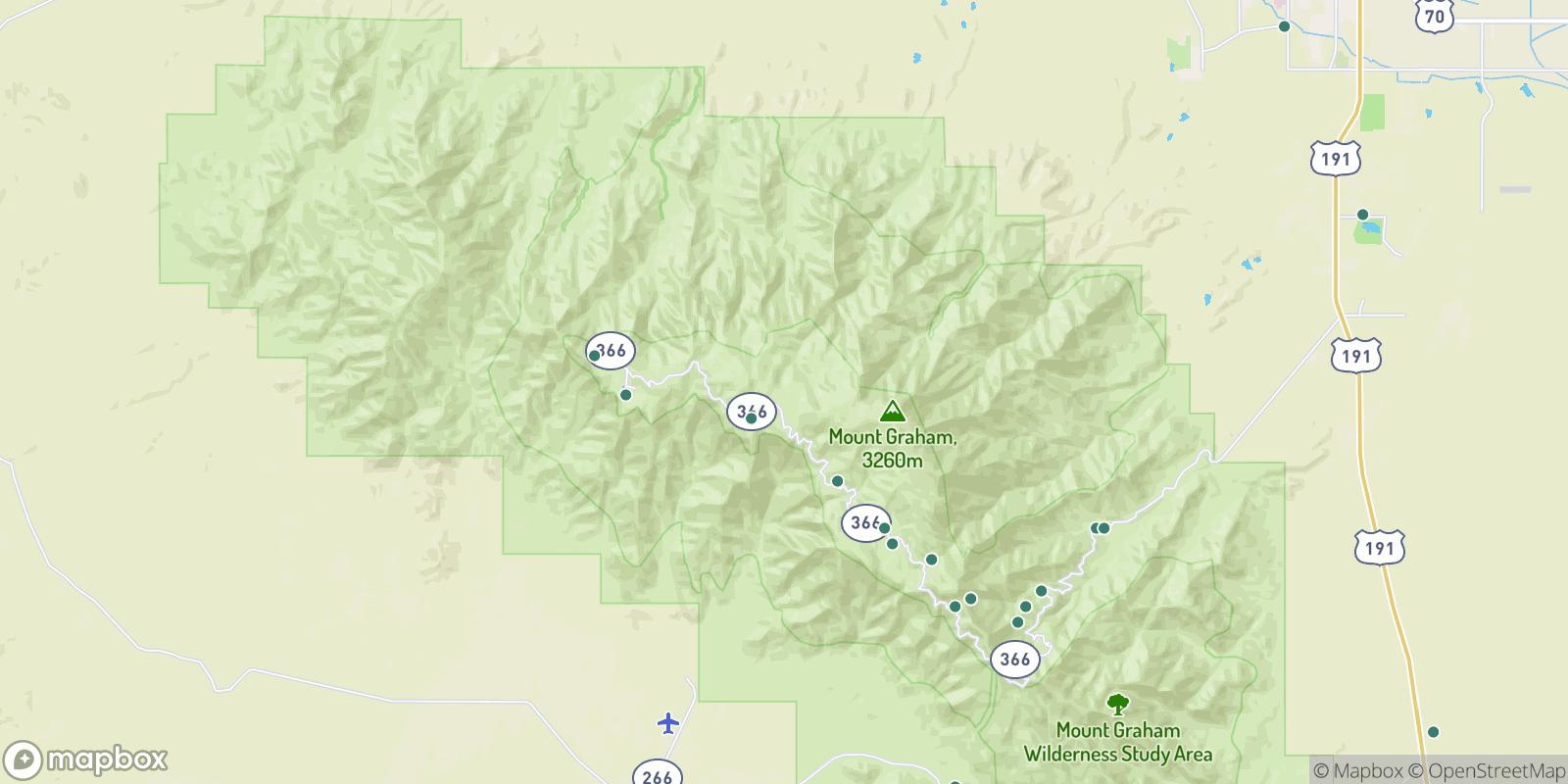 The best camping near Old Columbine, Arizona