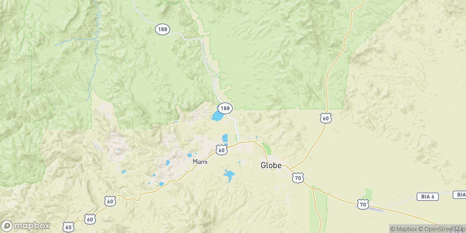 The best camping near Burch, Arizona