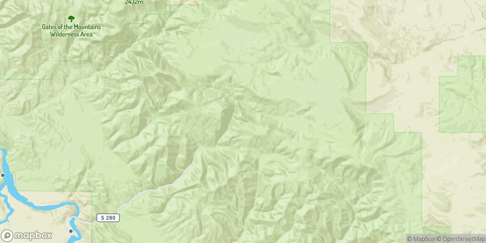 The best camping near Vista, Montana