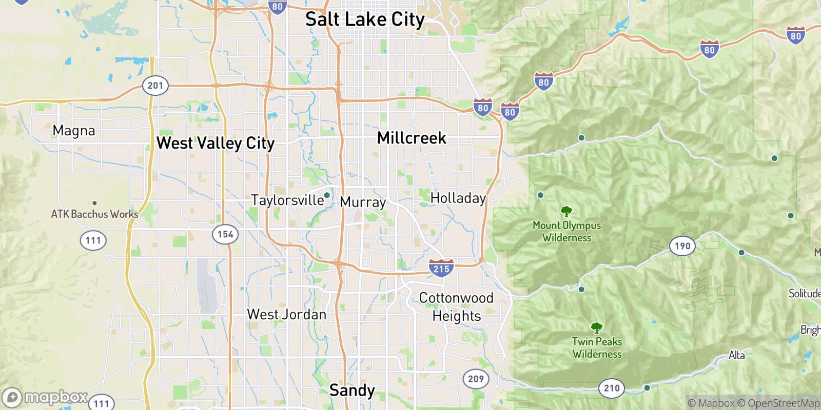 The best camping near Brookwood Condominiums, Utah