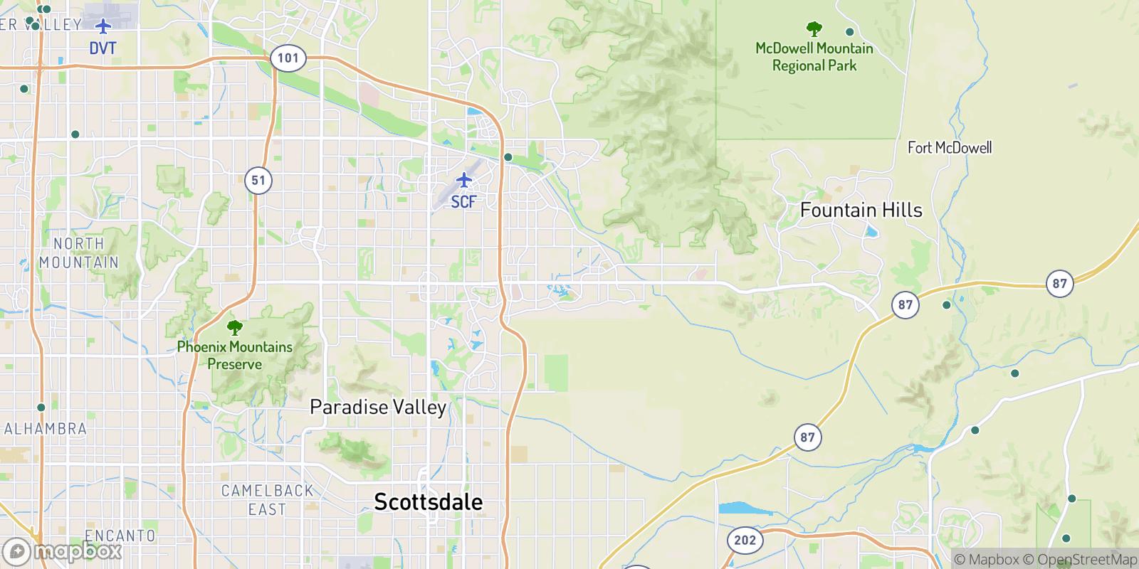 The best camping near Heritage Court, Arizona