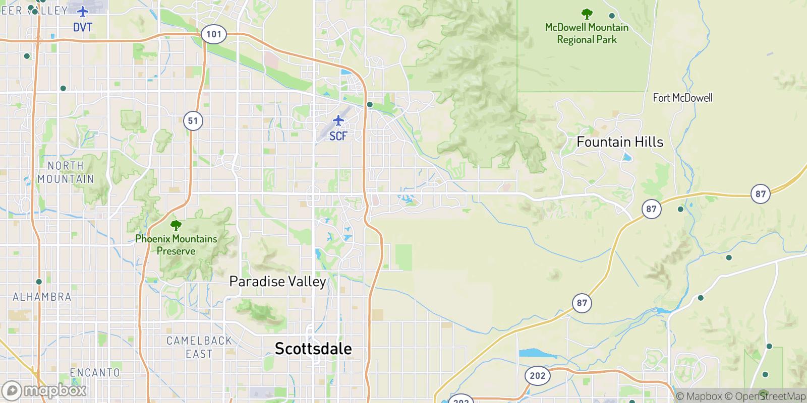 The best camping near Mirador, Arizona