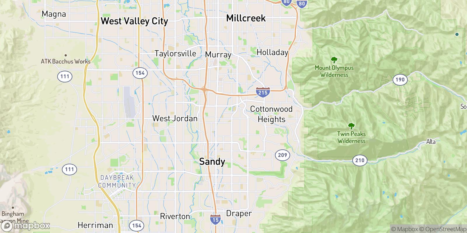 The best camping near Landon Village, Utah