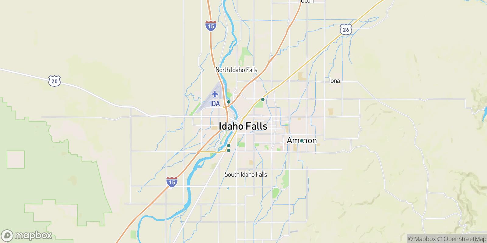 The best camping near Idaho Falls, Idaho