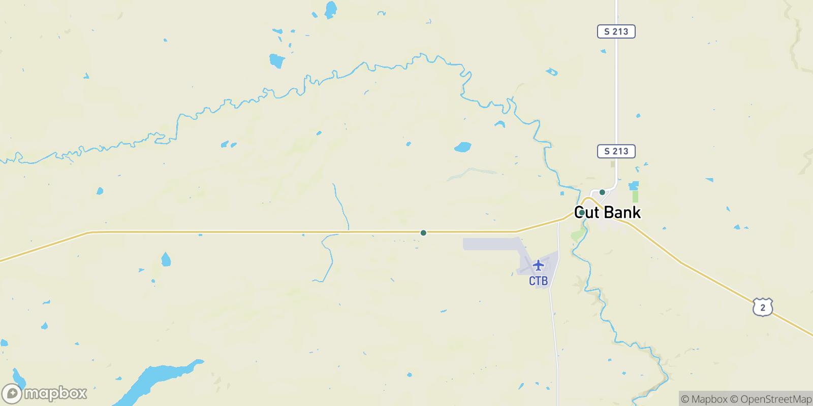 The best camping near Gunsight, Montana