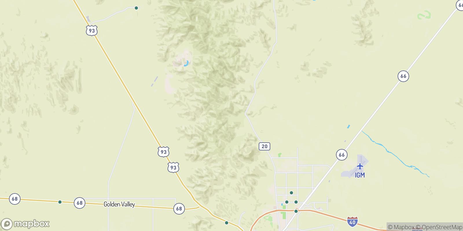The best camping near Stockton, Arizona