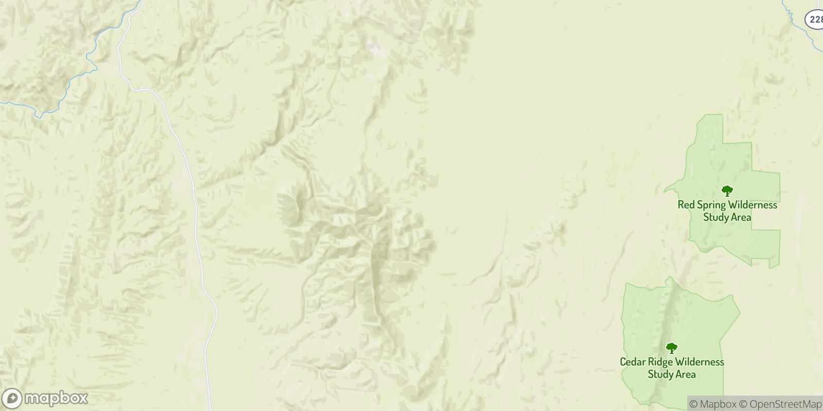 The best camping near Old Bullion, Nevada