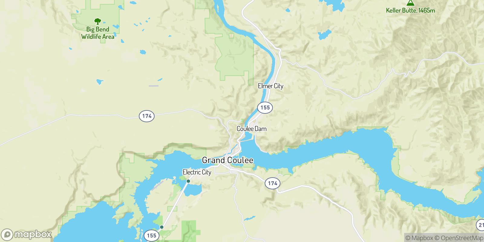 The best camping near Crown Point Vista, Washington