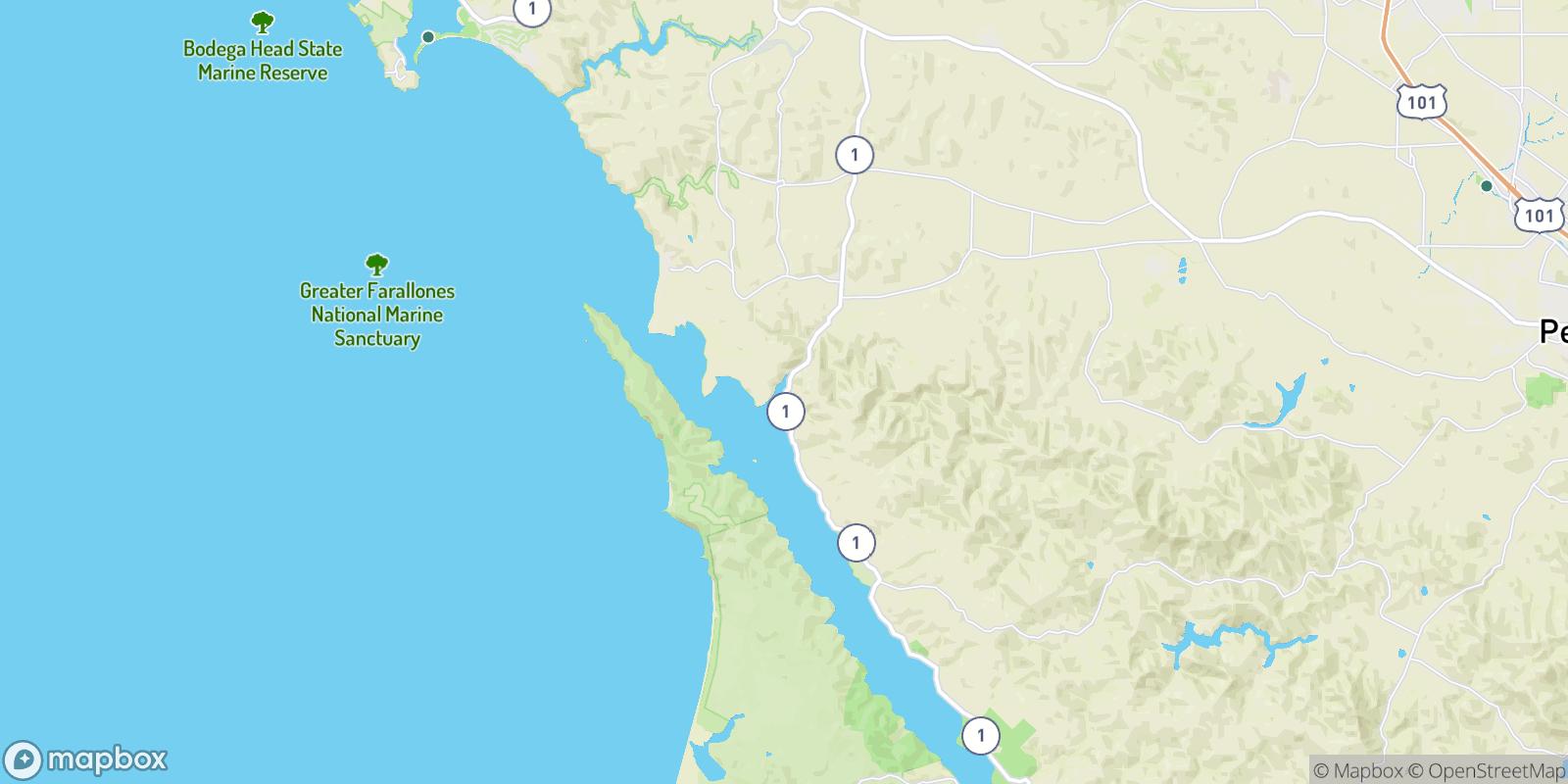 The best camping near Ocean Roar, California