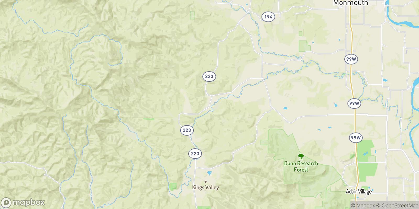 The best camping near Pedee, Oregon