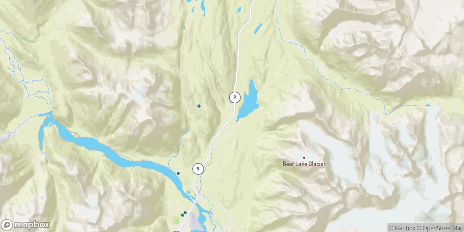 The best camping near Woodrow, Alaska