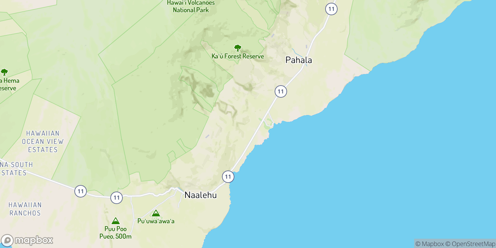 The best camping near Hilea, Hawaii