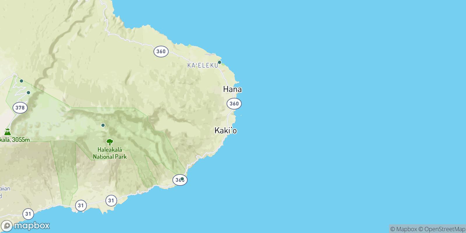 The best camping near Hoku'ula, Hawaii