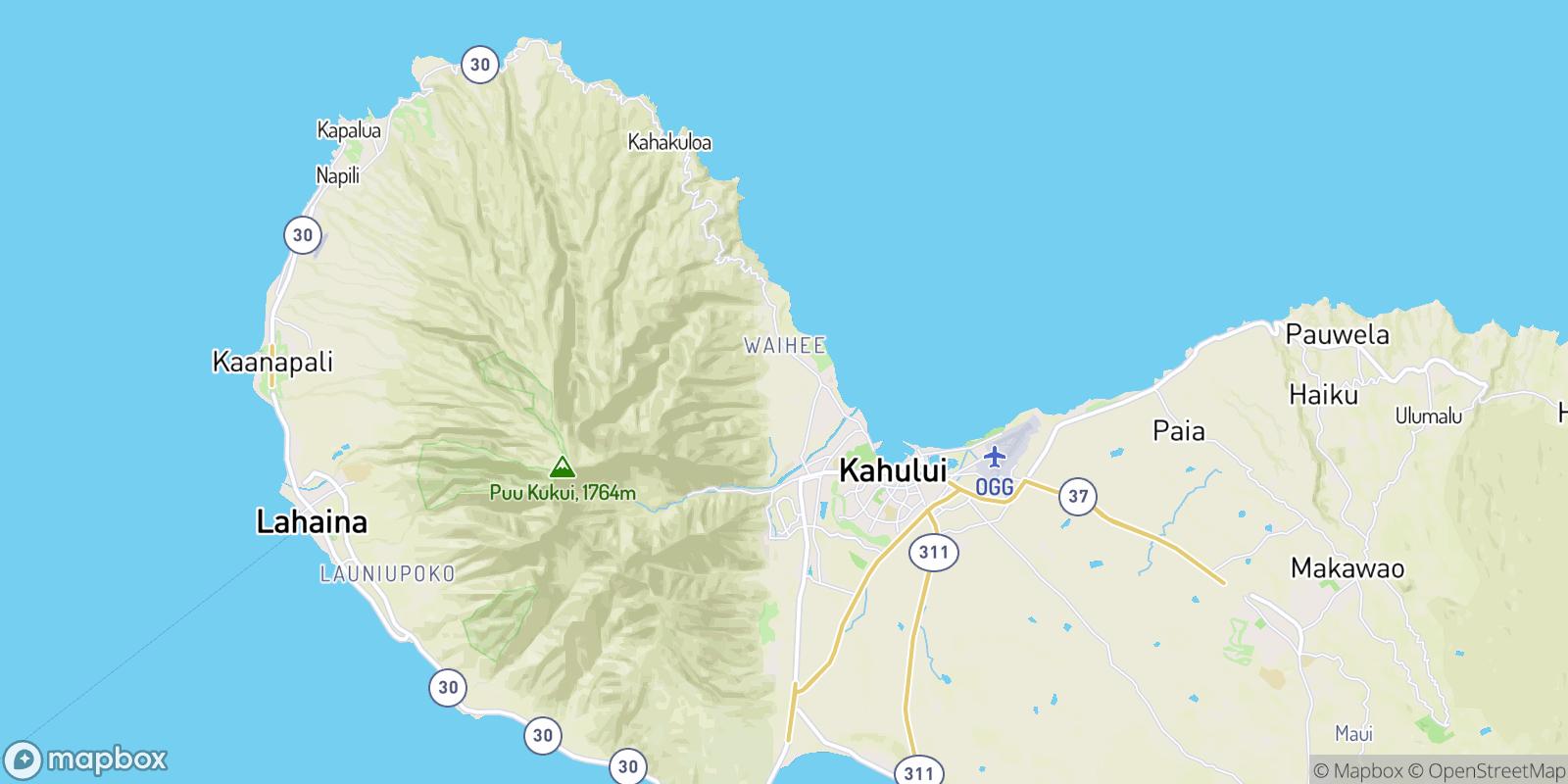 The best camping near Waiehu Village, Hawaii