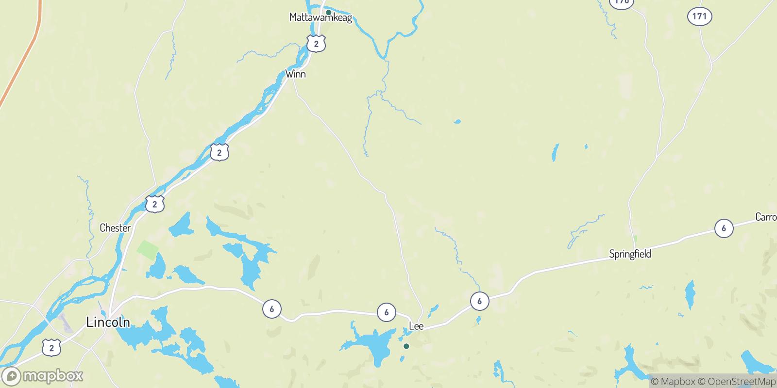The best camping near East Winn, Maine