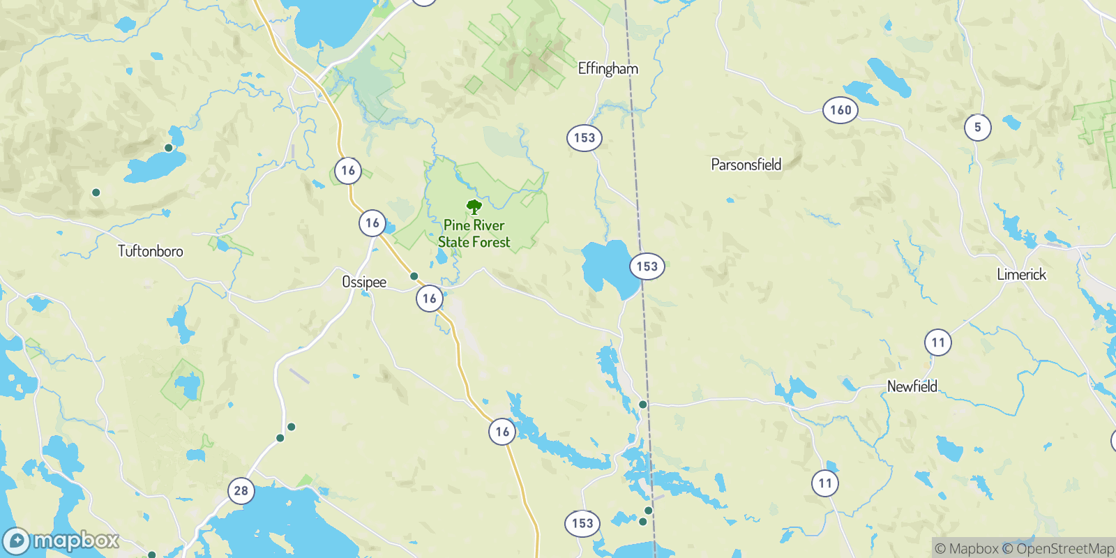 The best camping near Grape Corner, New Hampshire