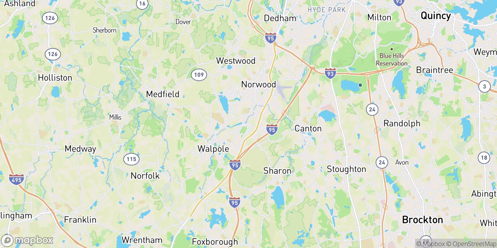 The best camping near East Walpole, Massachusetts