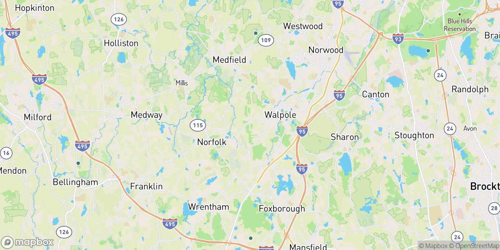 The best camping near Camp Cedar Hill, Massachusetts
