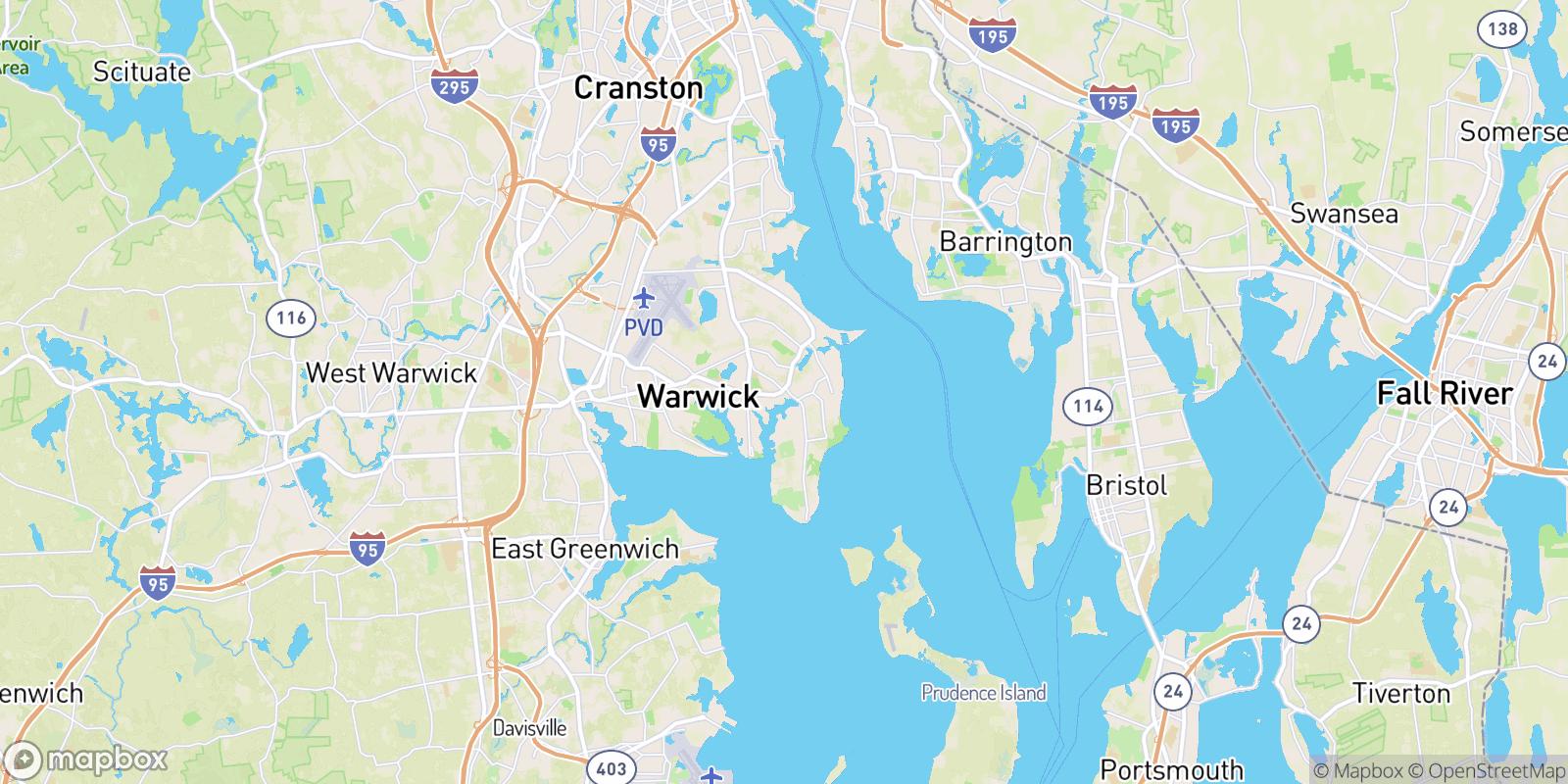 The best camping near Old Warwick, Rhode Island