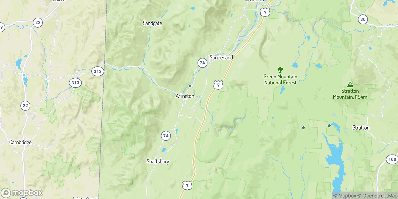 The best camping near Chiselville, Vermont