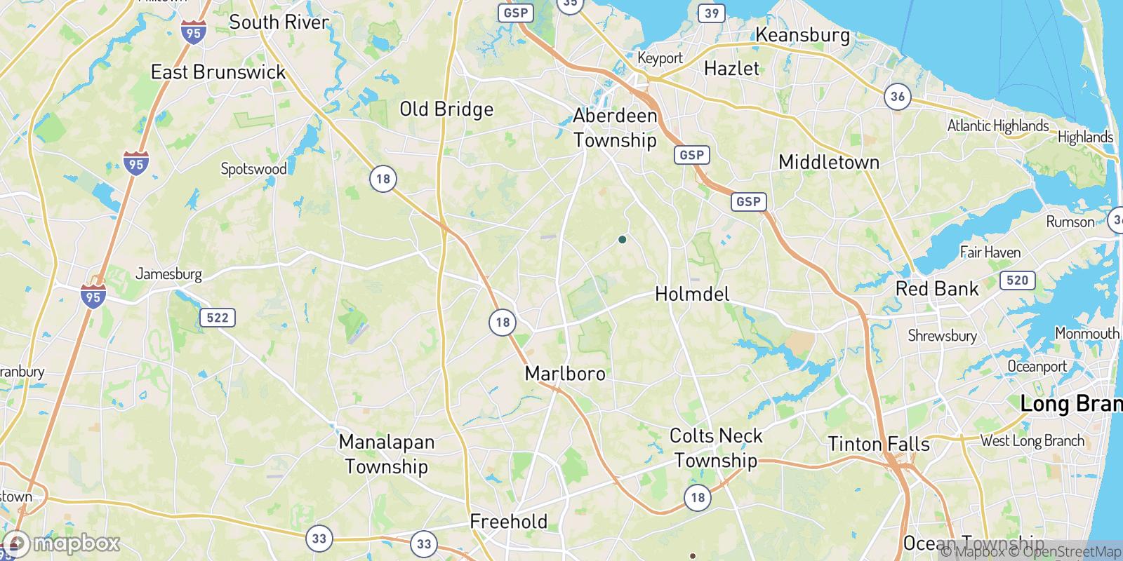 The best camping near Wickatunk, New Jersey