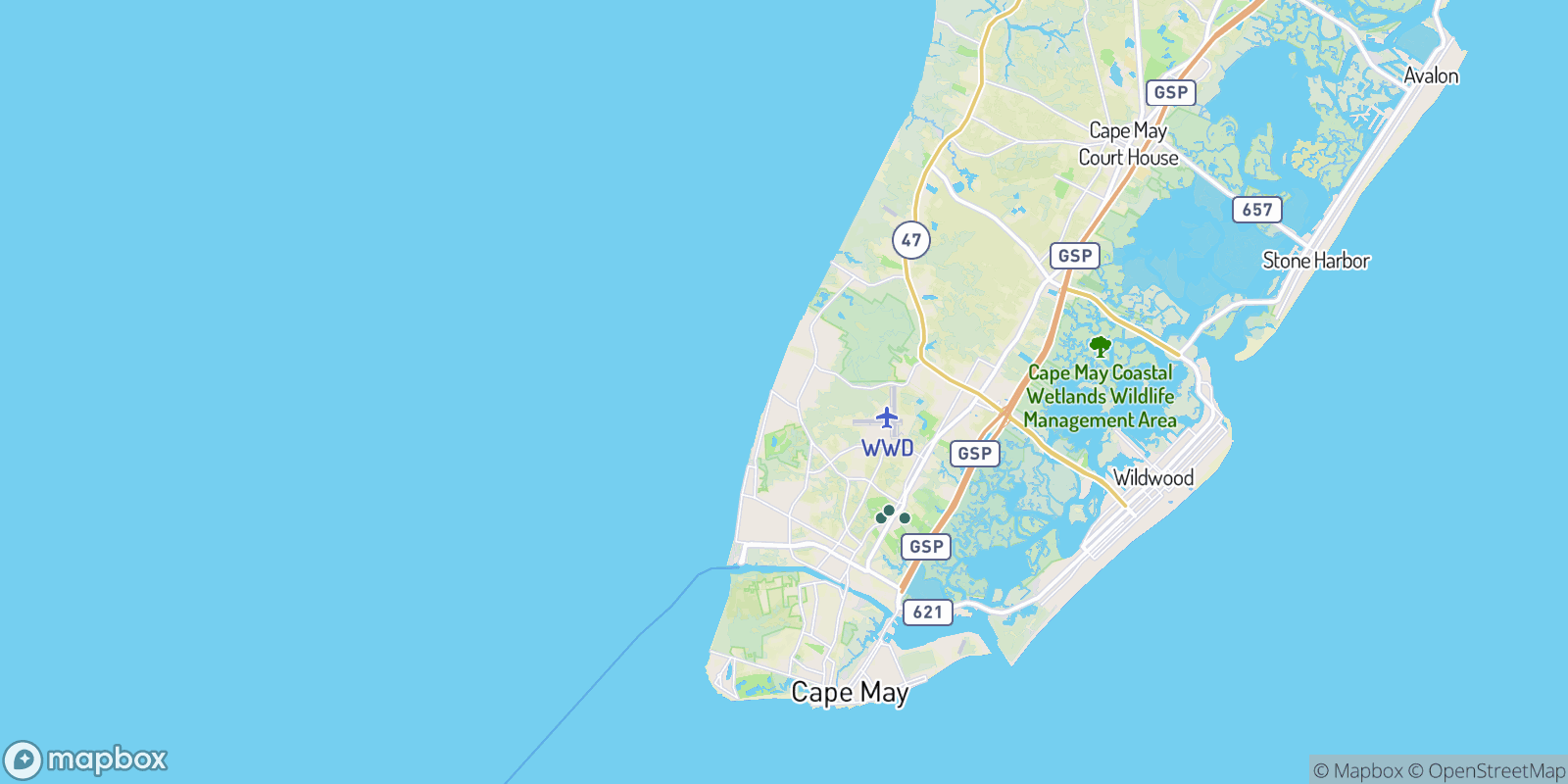 The best camping near North Highlands Beach, New Jersey