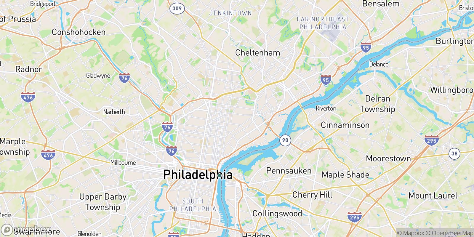 The best camping near Philadelphia, Pennsylvania