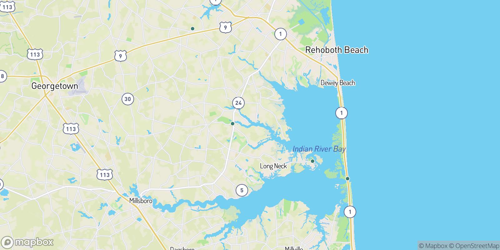 The best camping near Pine Water Landing, Delaware