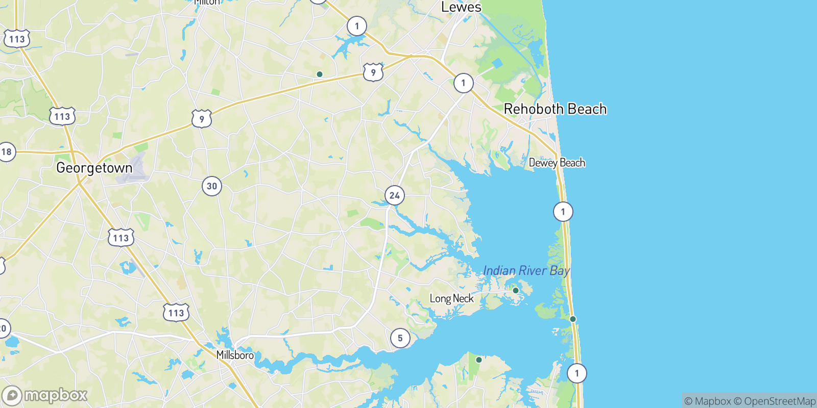 The best camping near Angola by the Bay, Delaware