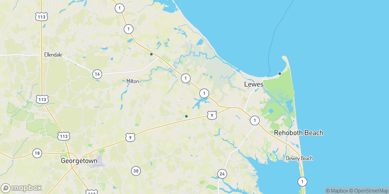 The best camping near Heronwood, Delaware
