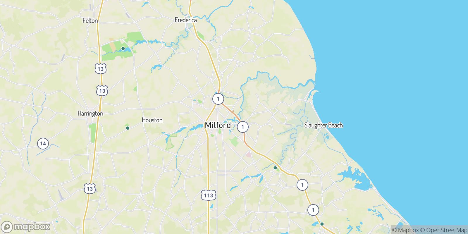 The best camping near Bowen Landing, Delaware
