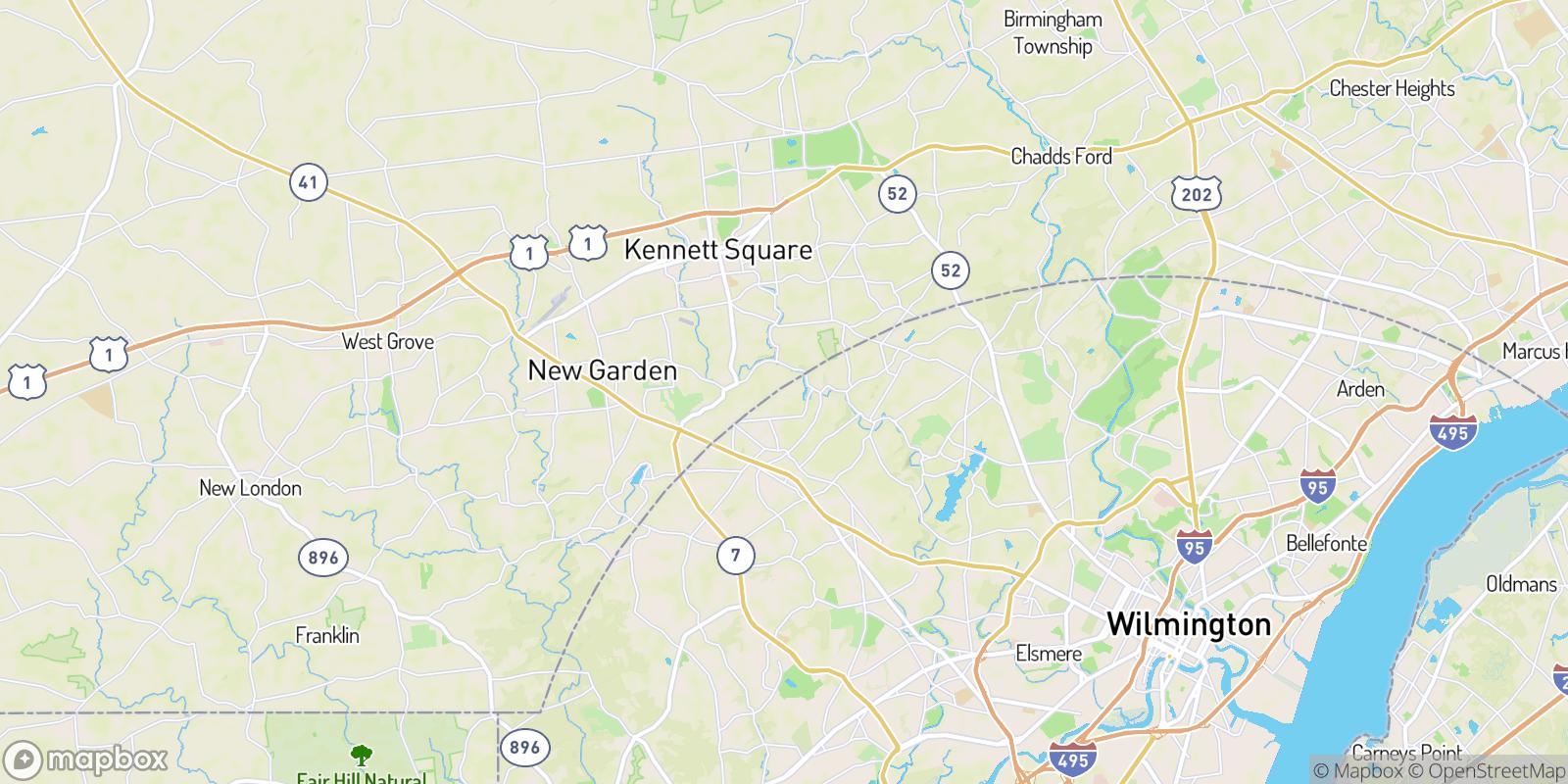 The best camping near Auburn, Delaware