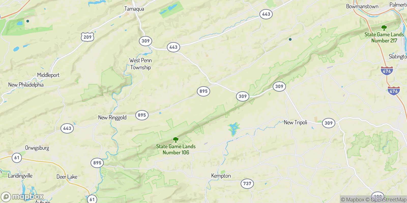 The best camping near Dorset, Pennsylvania