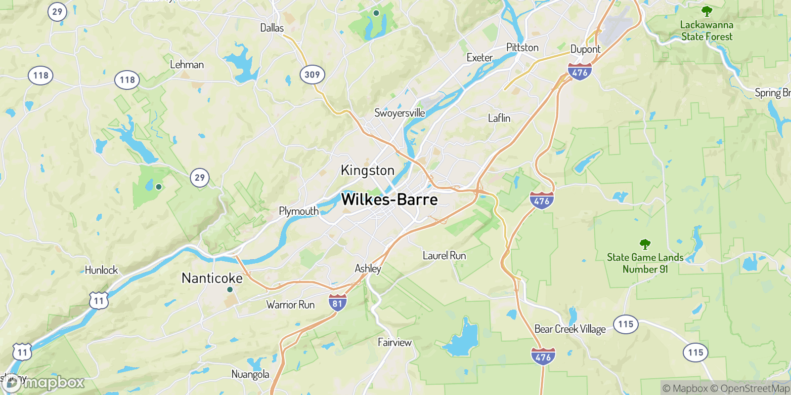 The best camping near Wilkes-Barre, Pennsylvania
