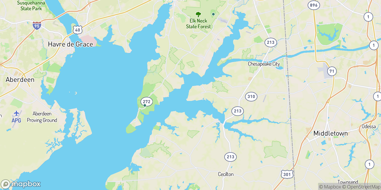 The best camping near The Woods of Town Point, Maryland