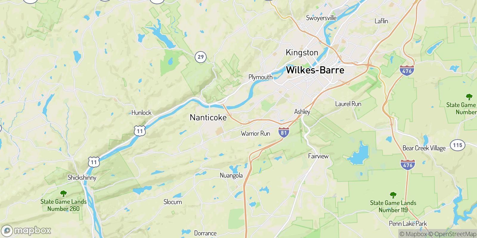 The best camping near Loomis Park, Pennsylvania