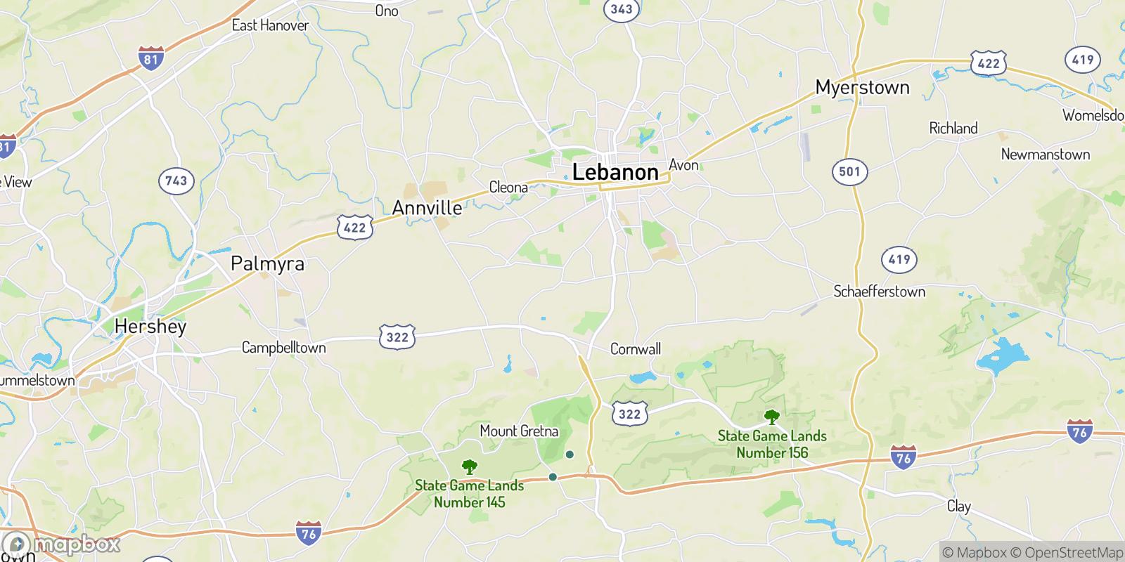 The best camping near Rocherty, Pennsylvania