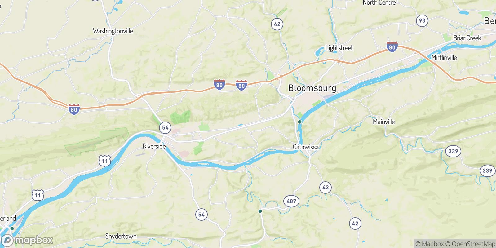The best camping near Grovania, Pennsylvania