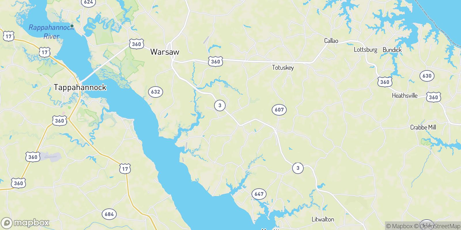 The best camping near Emmerton, Virginia