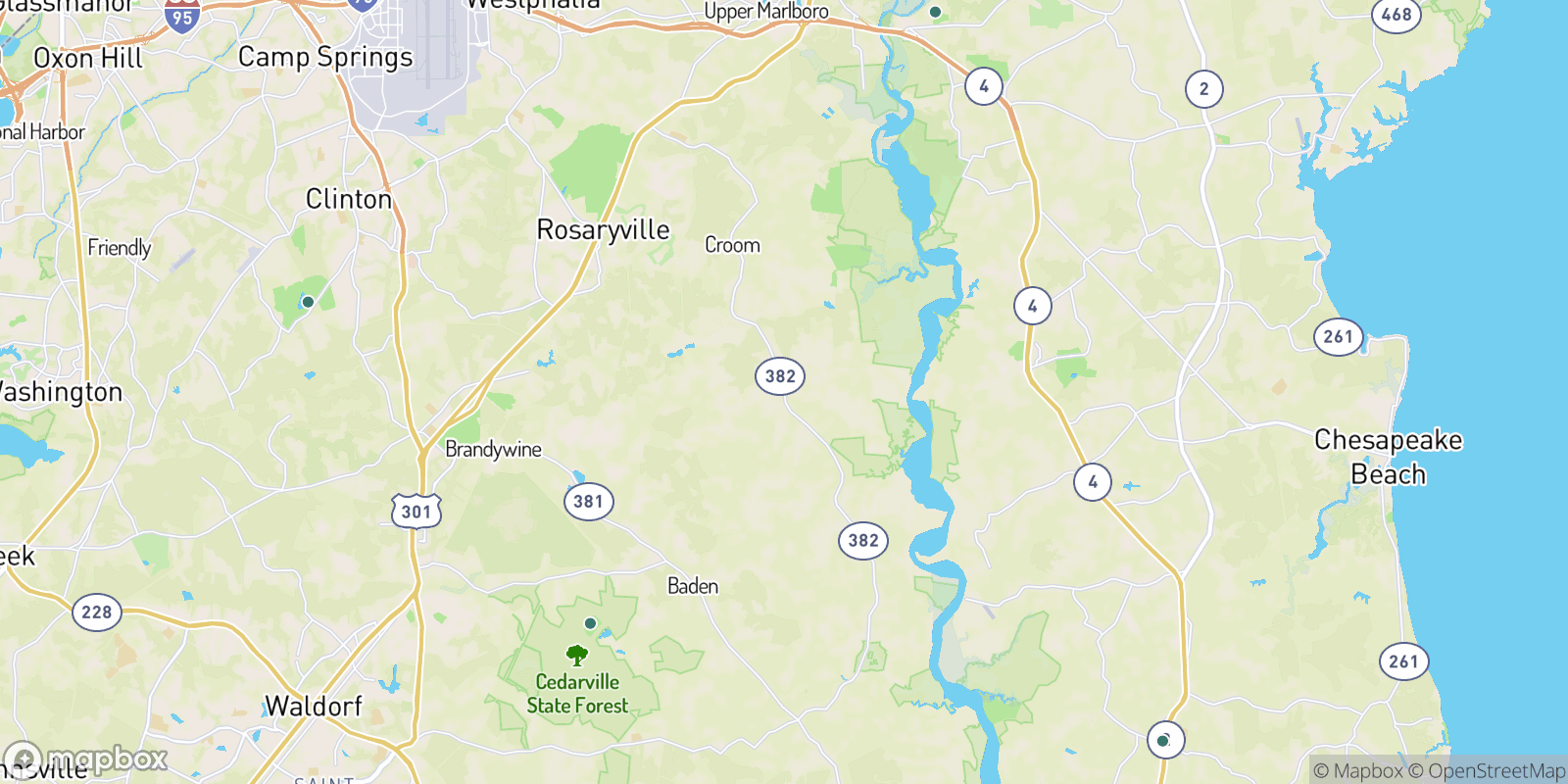 The best camping near Naylor, Maryland