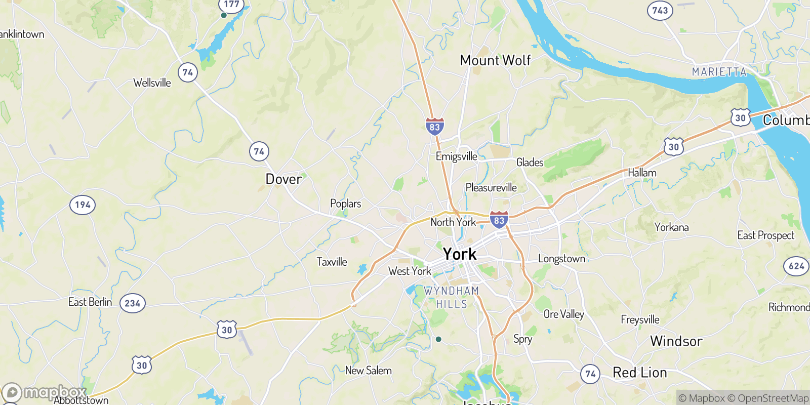 The best camping near Greenbriar, Pennsylvania